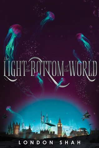 Title:  The Light at the Bottom of the World (Light the Abyss #1) , Author: London Shah, Publisher: Disney-Hyperion, Publish Date: October 29, 2019; Genres + Tags: Young Adult, YA, Fantasy, Sci-Fi, Science Fiction, Dystopia, Dystopian, Romance, YA Sci-Fi/Fantasy, YA Dystopian, Cover Art Love