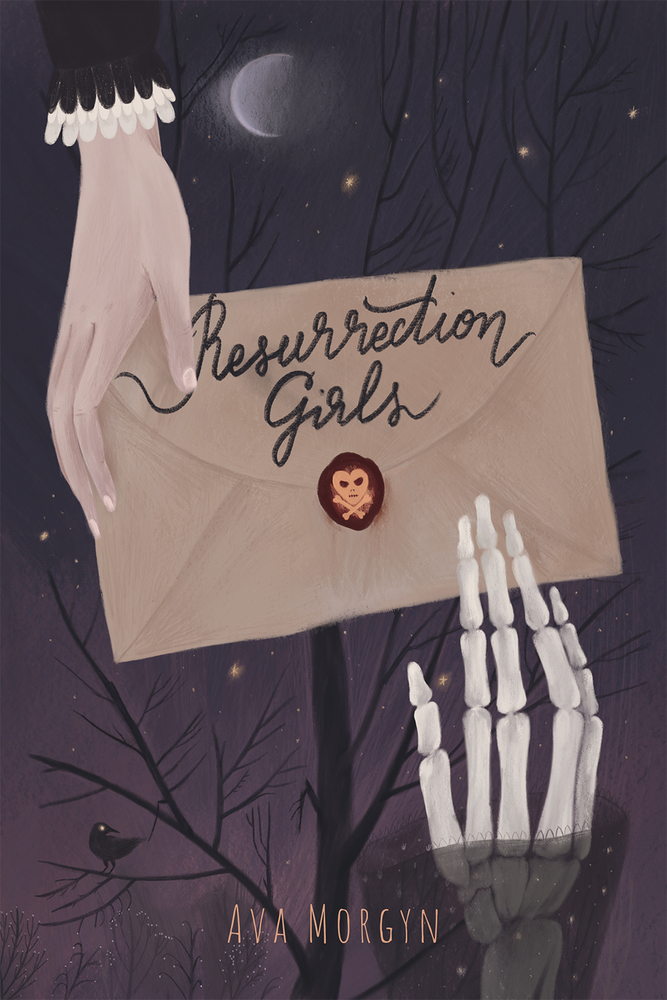 Title:  Resurrection Girls , Author: Ava Morgyn, Publisher: AW Teen, Publish Date: October 1, 2019; Genres + Tags: Young Adult, YA, Fantasy, Paranormal, YA Fantasy, YA Paranormal