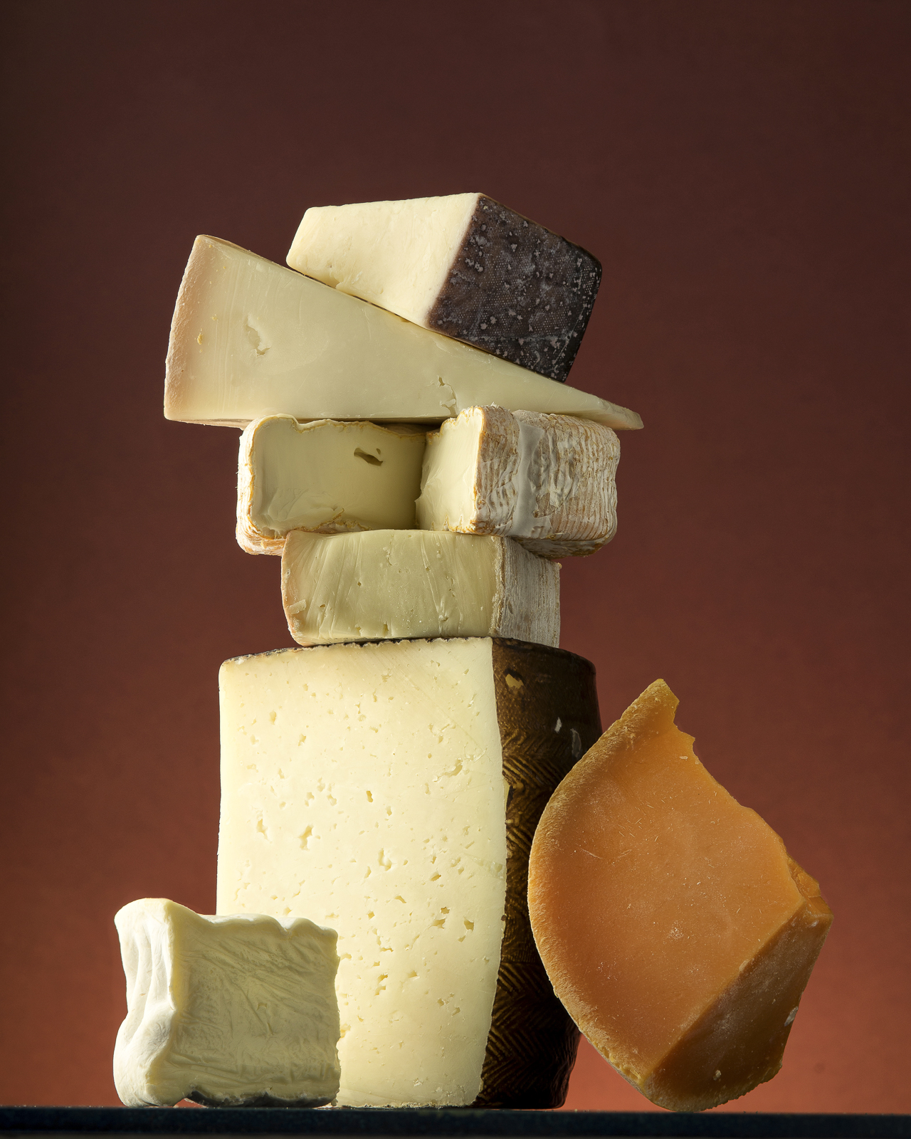 Seven Cheeses Stack