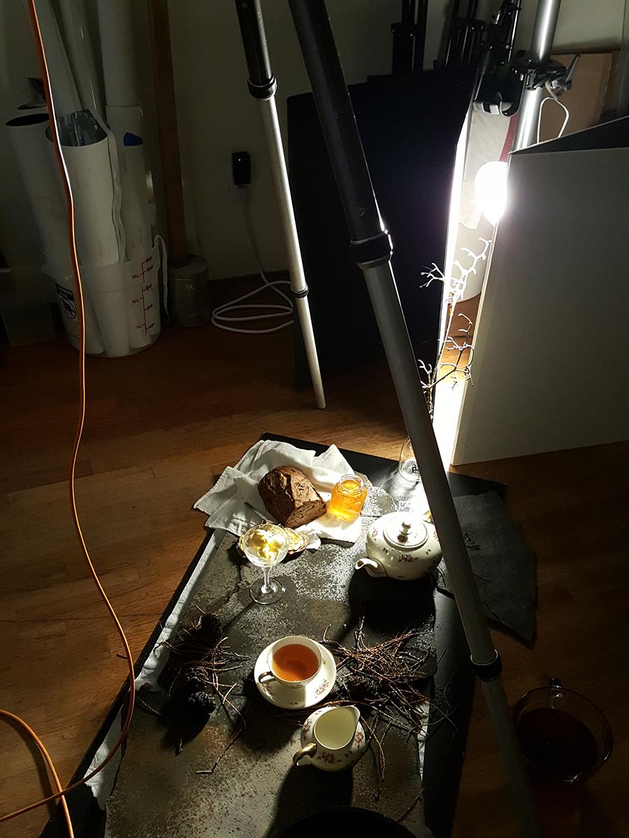 Behind the Scenes: Woodland Tea