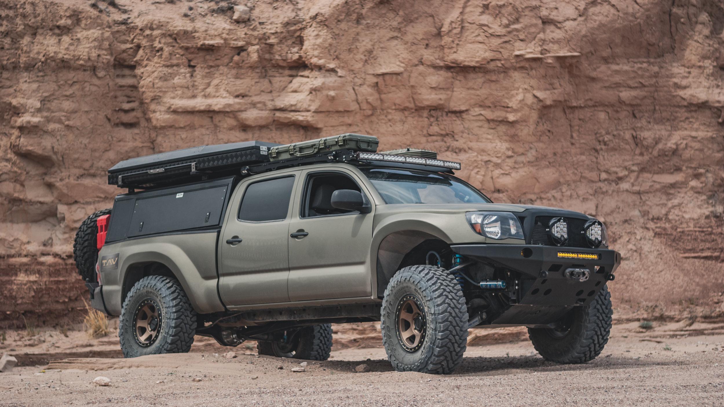 Alu Cab Explorer Truck Topper Tactical Application Vehicles