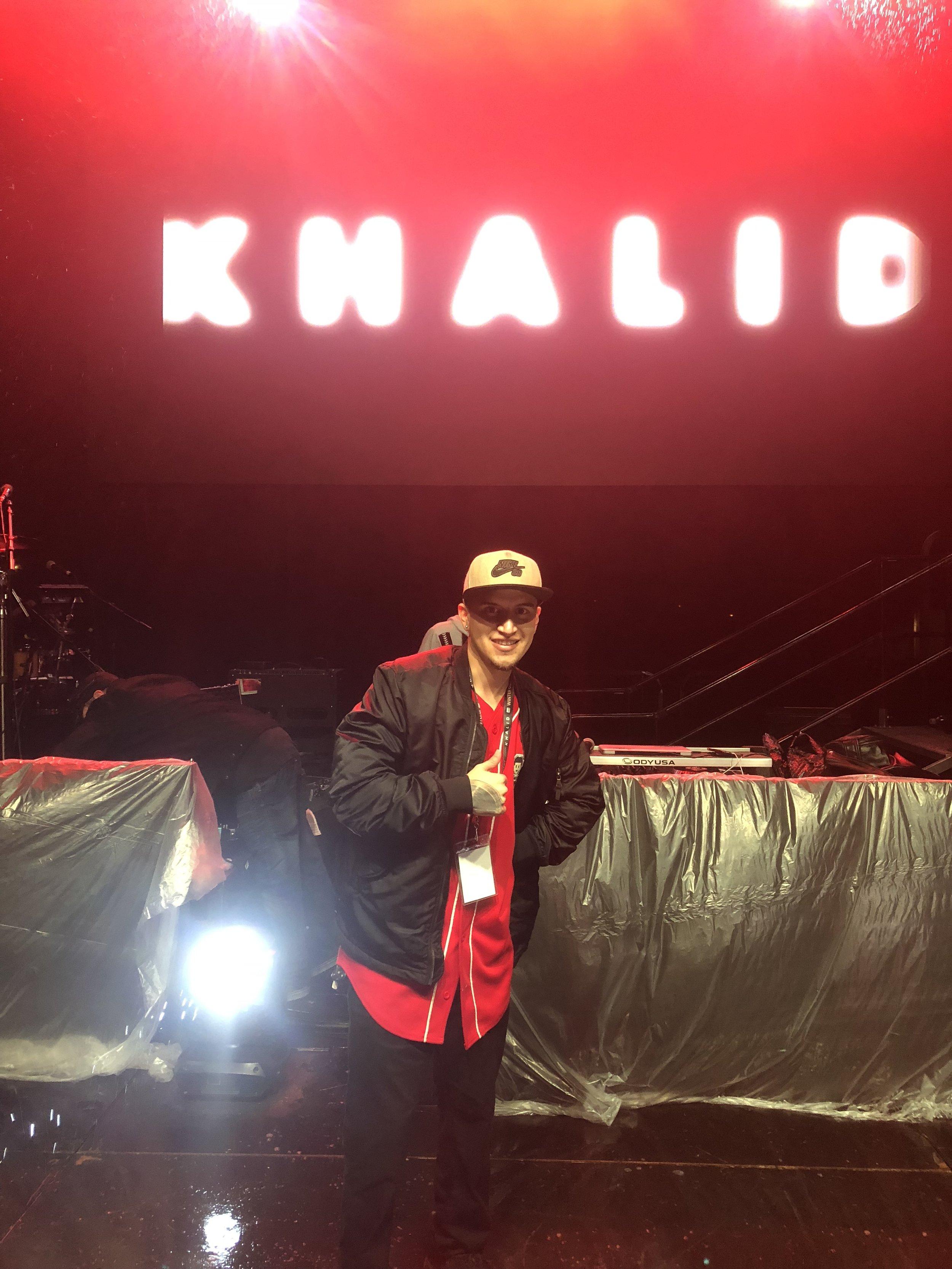 Opening Set for Khalid