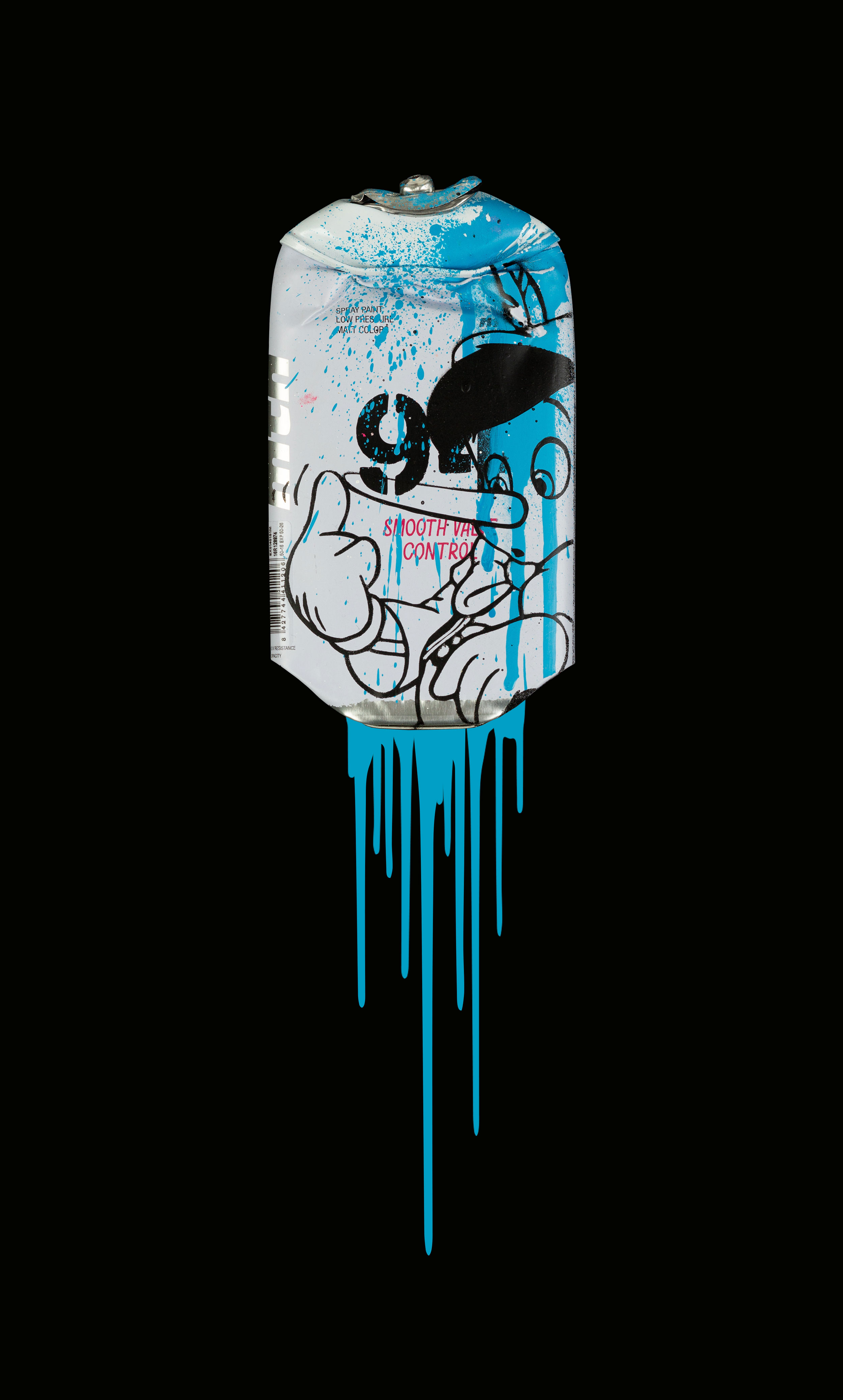 Pinocchio-Montana-94-Freedom-Blue-Acrylic-Spray-paint-on-crushed-spray-can-in-museum-perspex-box-frame-27.5cm-x-45cm-x-5.5cm-£725.jpg