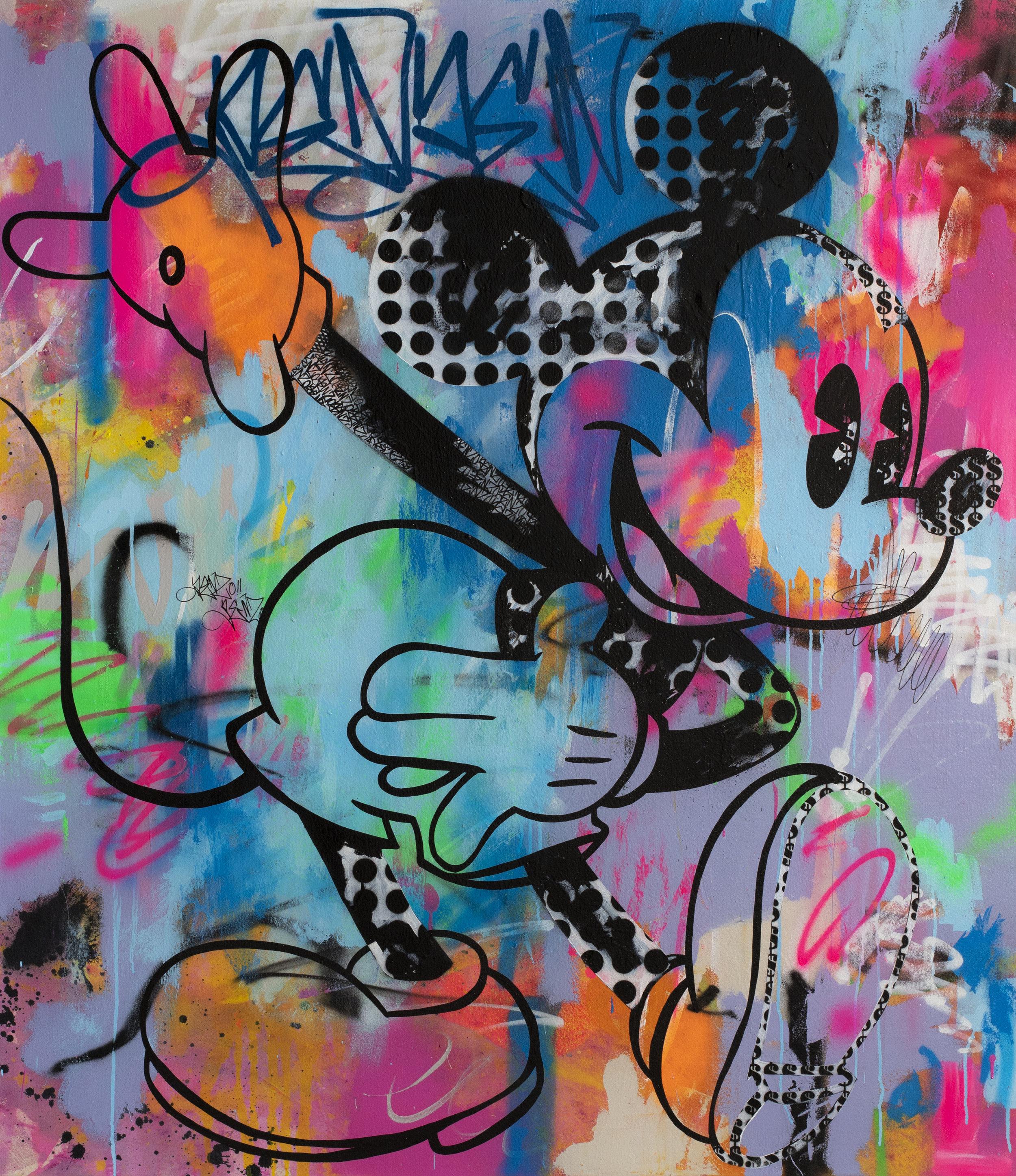 Mickey Graffiti  - 130cmX150cmX3.5cm.jpg