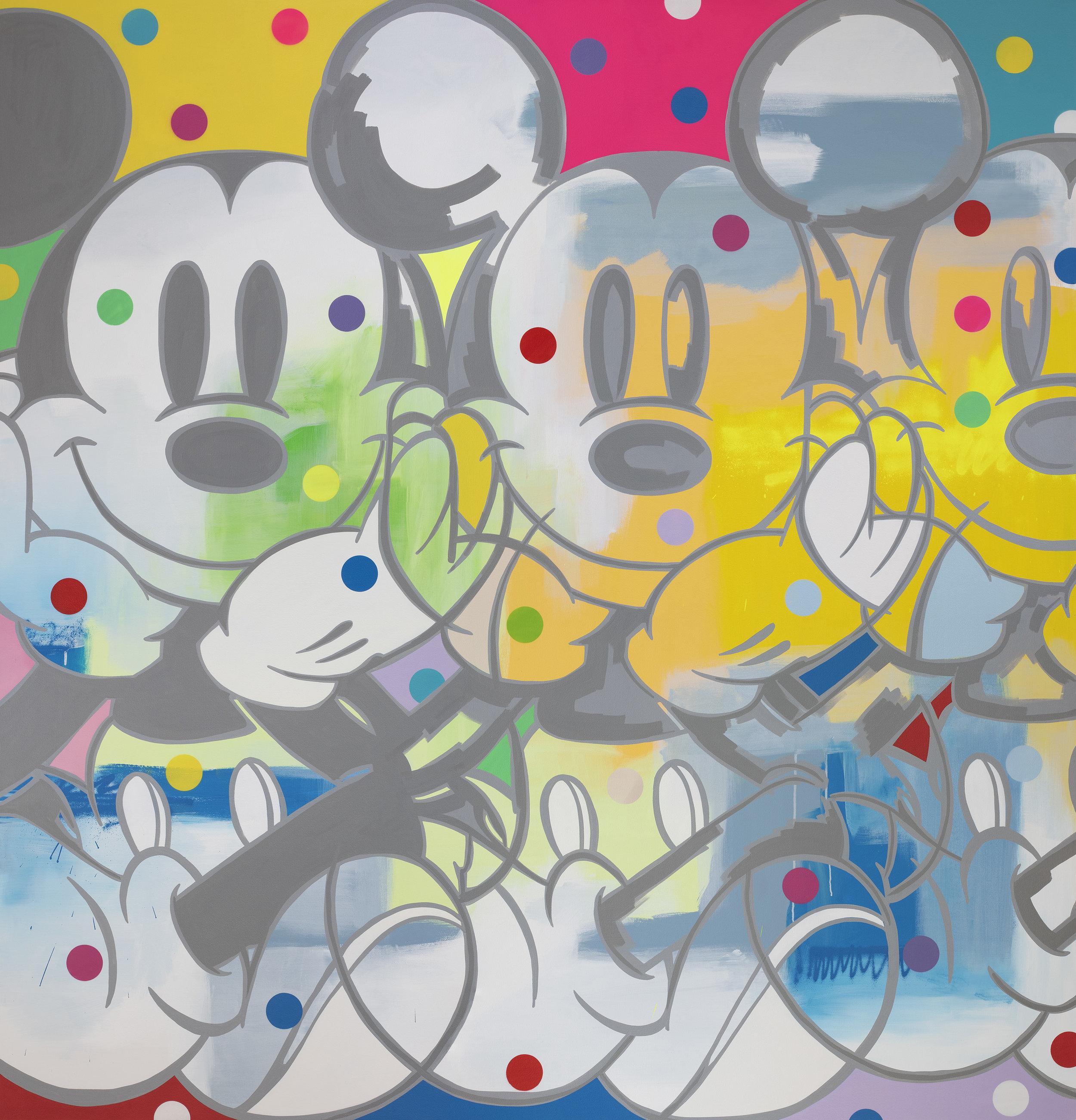 Mickey Meditation-200cmX210cmX3.5cm.jpg