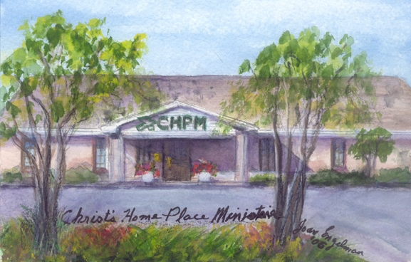 Christ Counseling Ministry | Watercolor on Paper | Joan Engleman 2005
