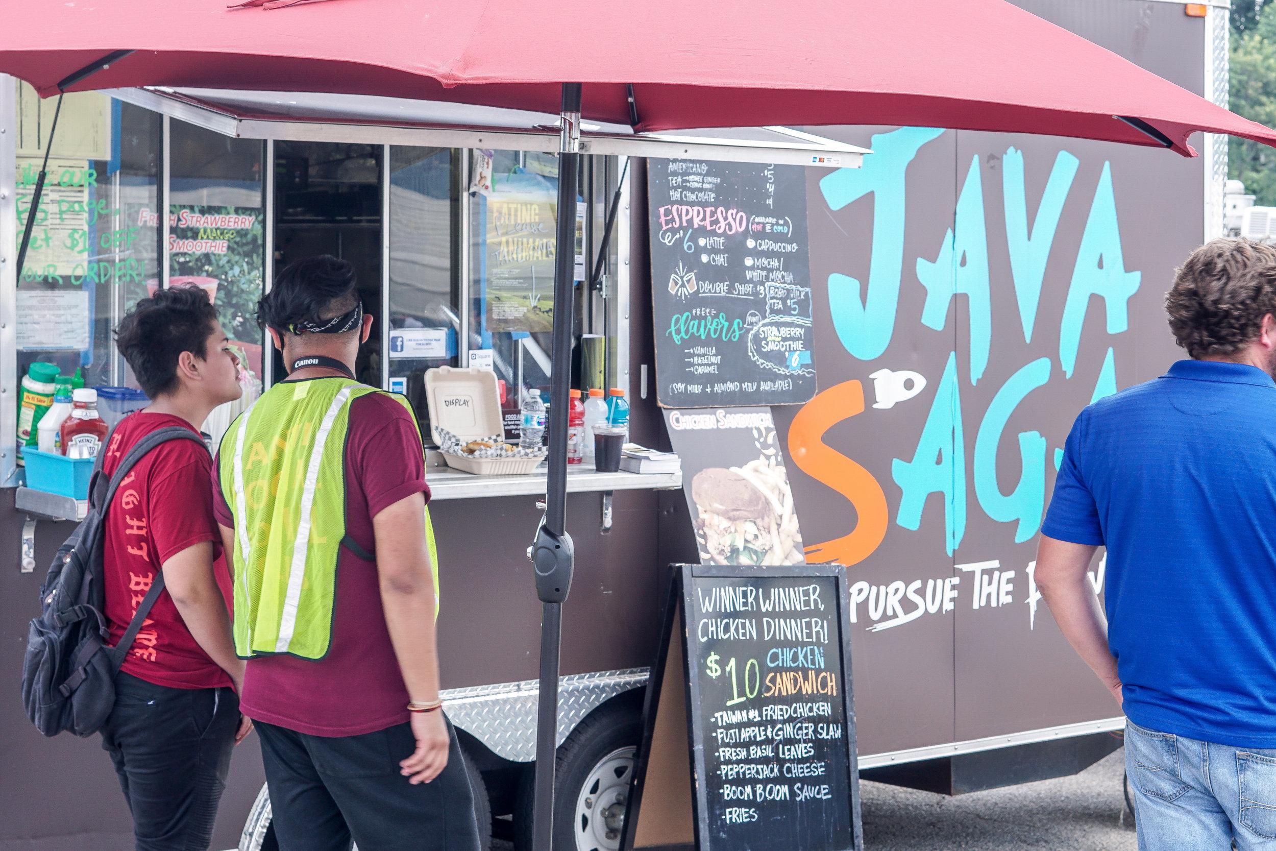 The Java Saga food truck.