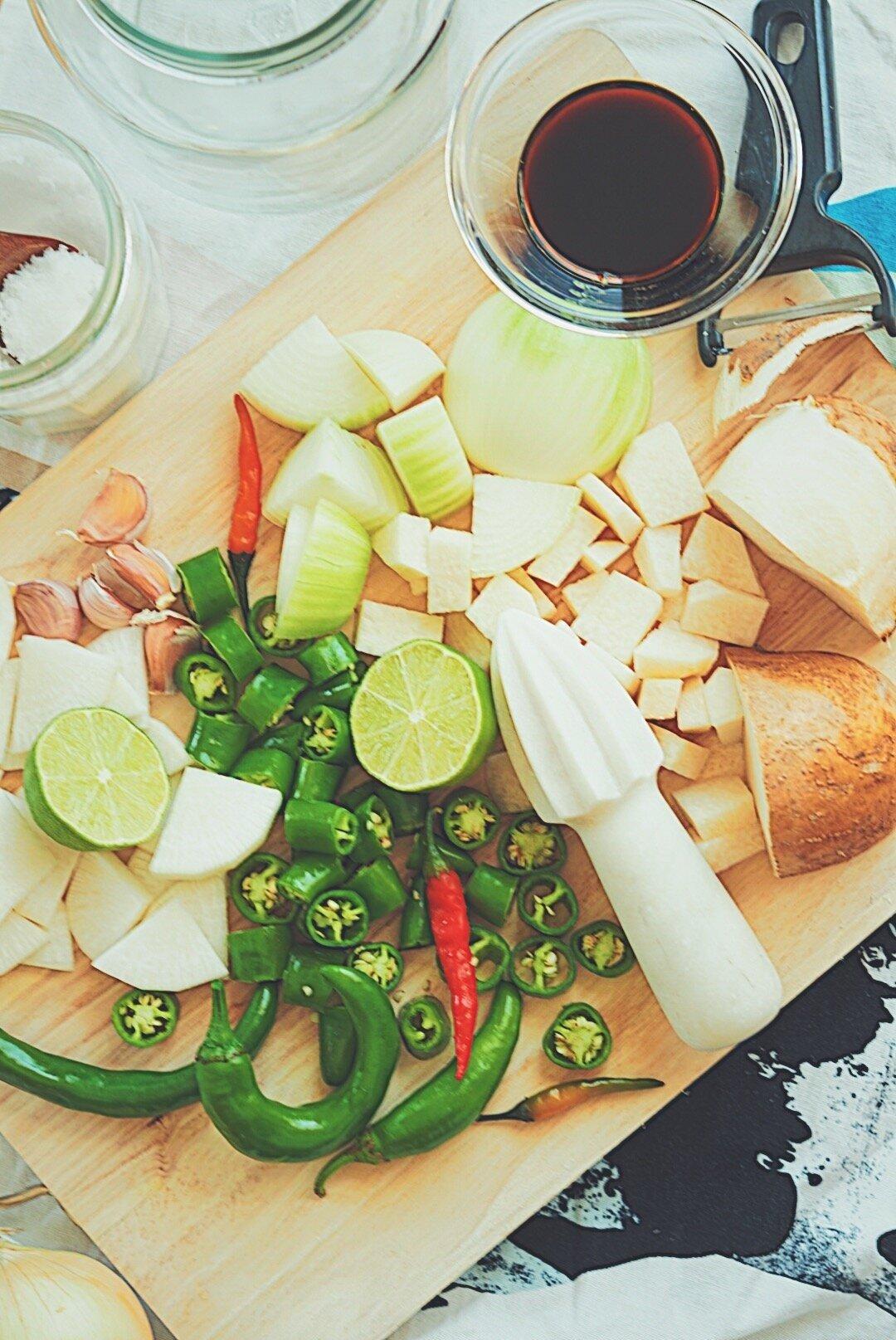 pickle+veggies