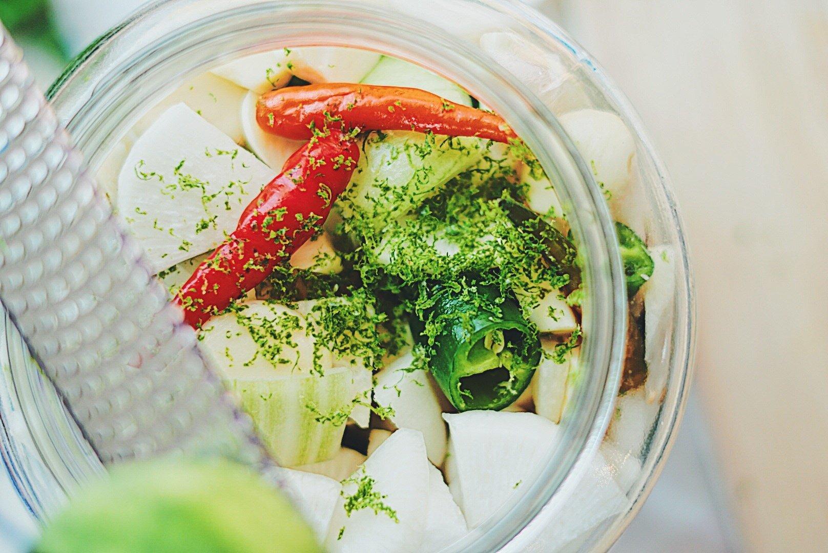 pickle veggies