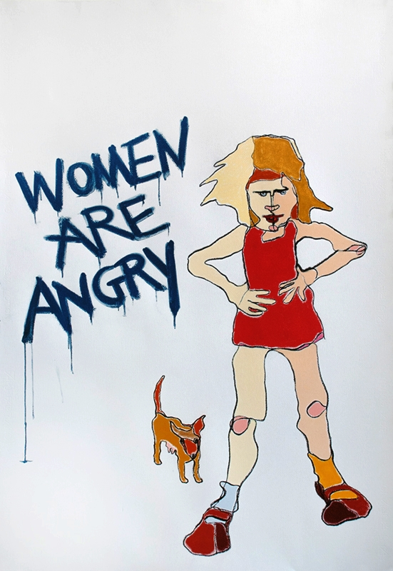 Women are Angry  Rage and Reason Series: Available as limited edition print