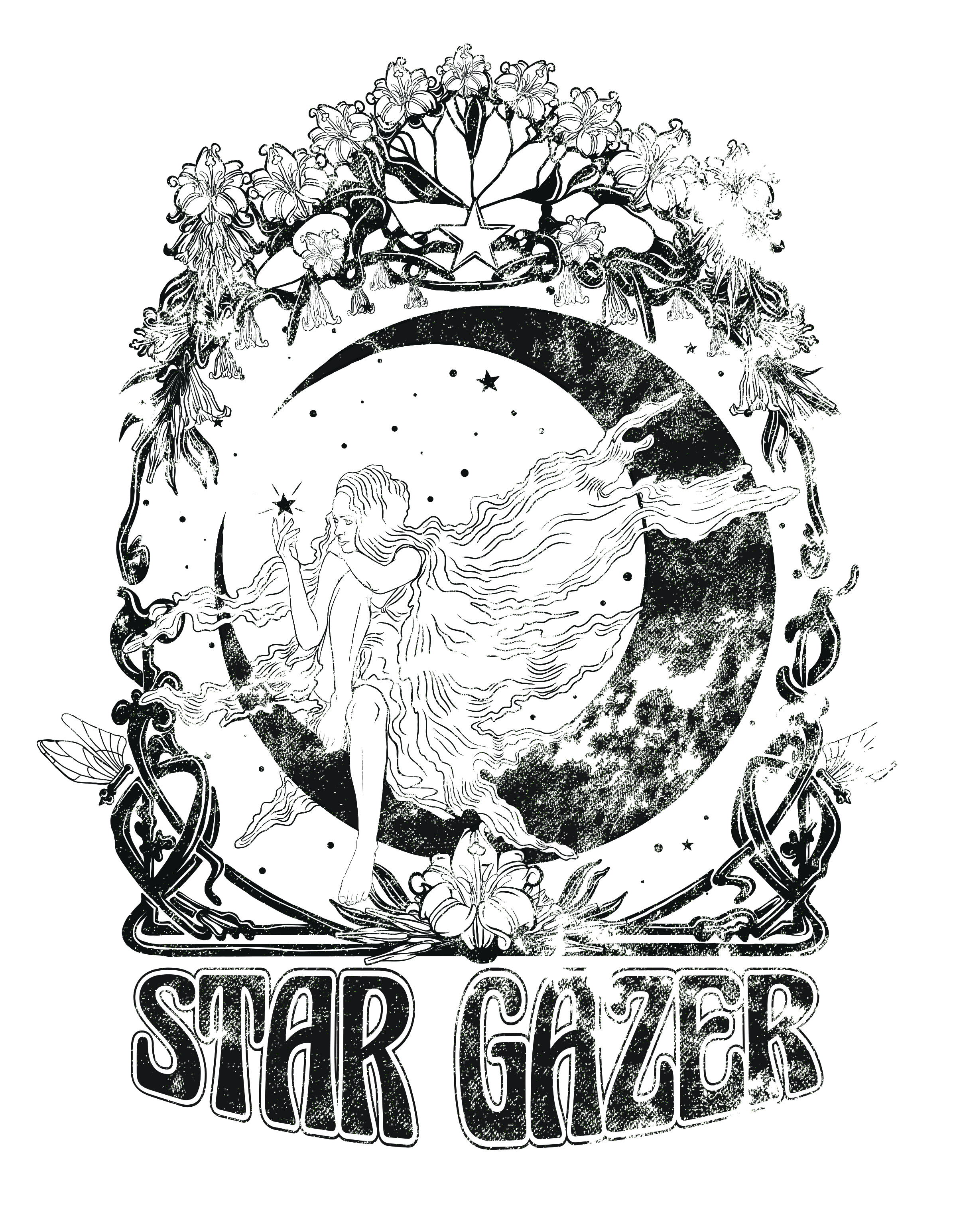 Star gazer tee_with_distressing2flat.jpg