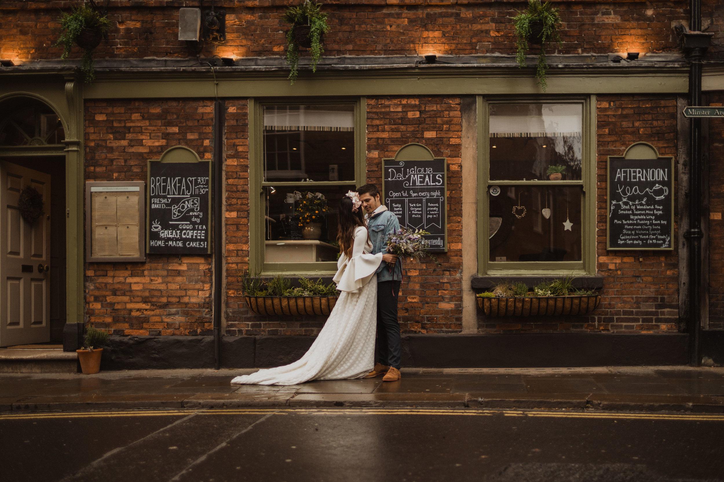MARIA & JAVI - wedding in york -