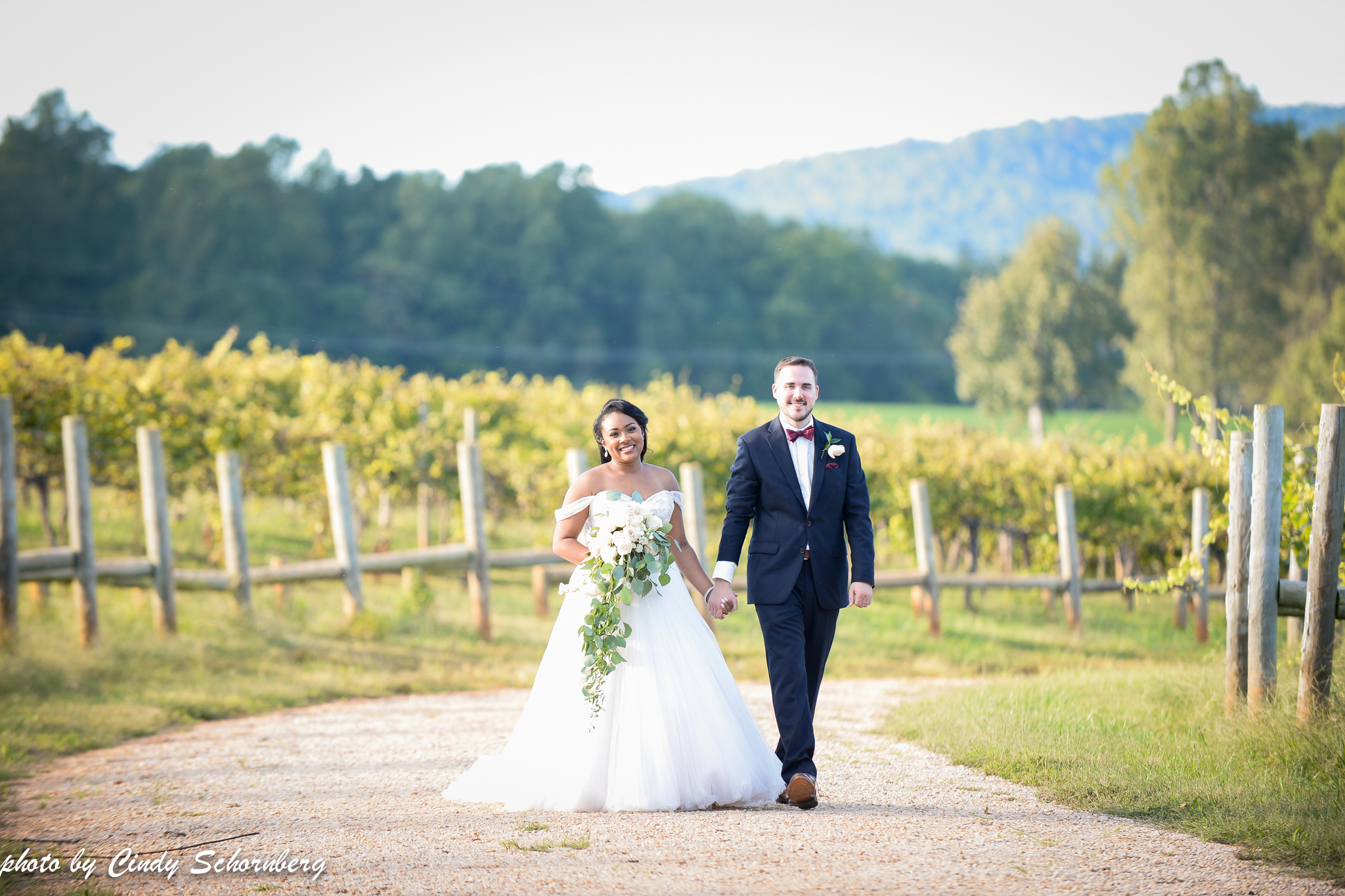 "Jasmine & Justin 09.29.2018 - ""Our wedding at Keswick Vineyards was absolutely perfect on 9-29-18. Keswick's Day of Coordination services was outstanding. Colleen and Cindy were able to pull all of our hard work together after a stressful year of planning and had loads of amazing feedback and ideas prior to the big day. The venue is breathtaking - I couldn't imagine getting married anywhere else."""