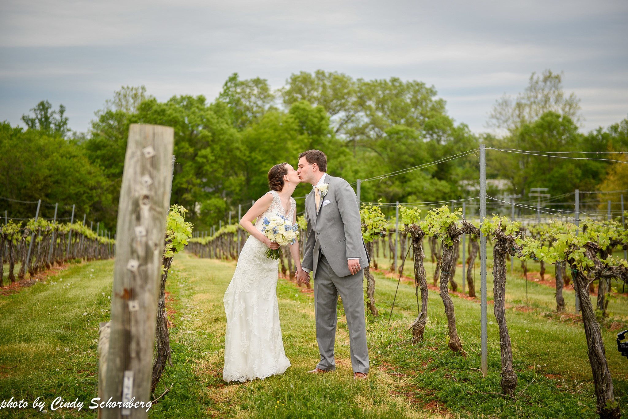 "Rebecca & Jesse05.05.2018 - ""Keswick vineyards was a beautiful place for our wedding. Our guests loved the vineyard views and the gorgeous tent, and the wines were delicious. Cindy and Colleen were great to work with, incredibly professional, and helped us with everything we needed to make our day perfect. I would highly recommend this venue to anyone."""