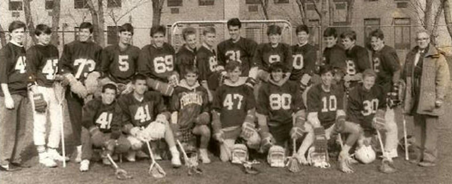 1989 First Varsity Team