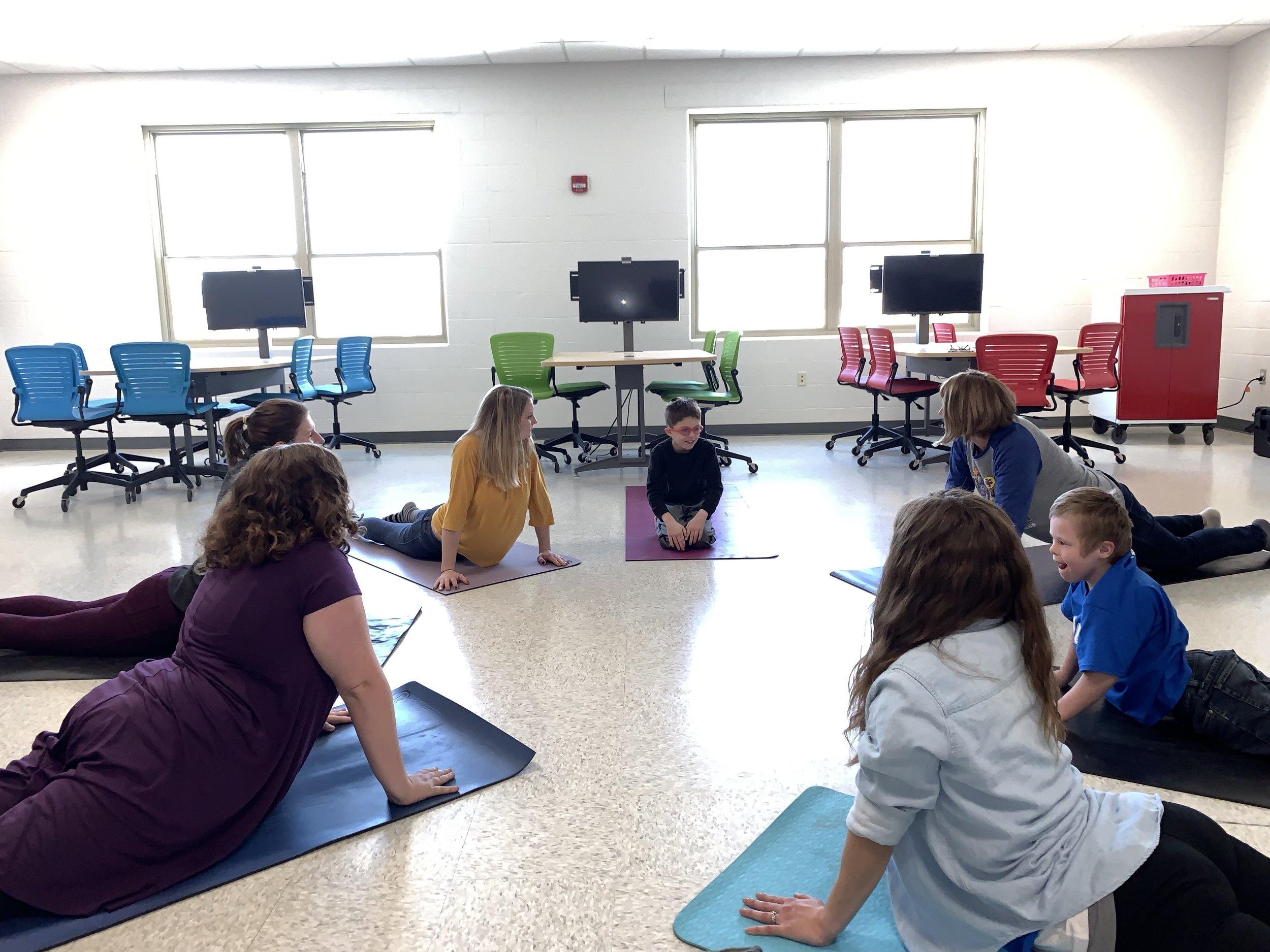 Marie's Classroom at Algoma Elementary, Wisconsin