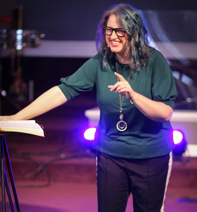 Kathy Cannon - Lead Pastor -