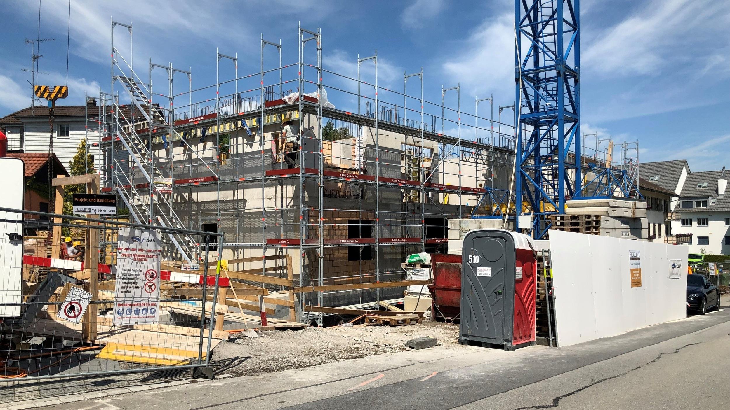 VISIT+-+Baustelle+Neubauprojekt+Boll+Immobilien+Immobilie+Wohnung+Richterswil+verkauft
