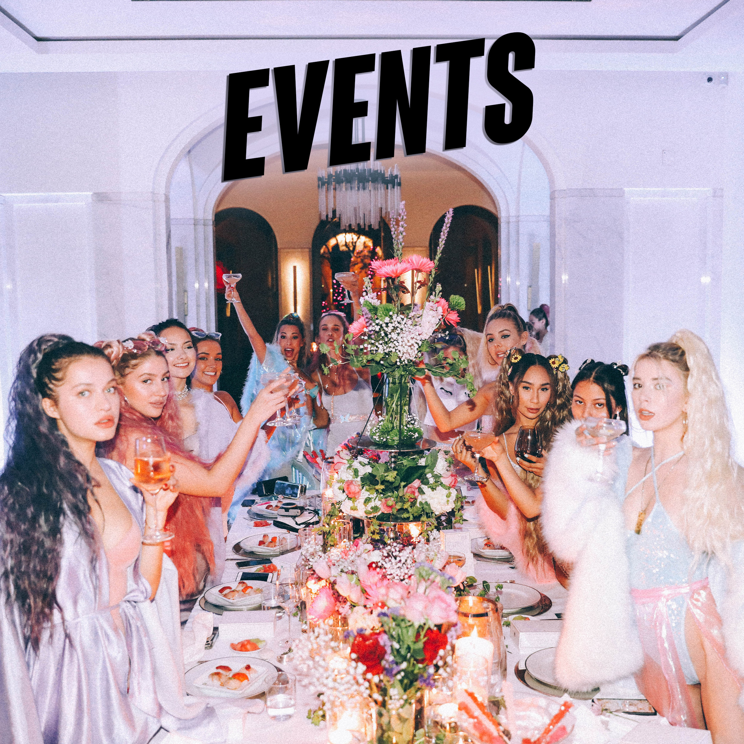Our events are always known as status symbols for all who attend. The reason for this is clear: we emphasize originality and memorability. We leverage our unparalleled network of relationships within the entertainment, fashion and digital industries to enhance discoverability for our clients.