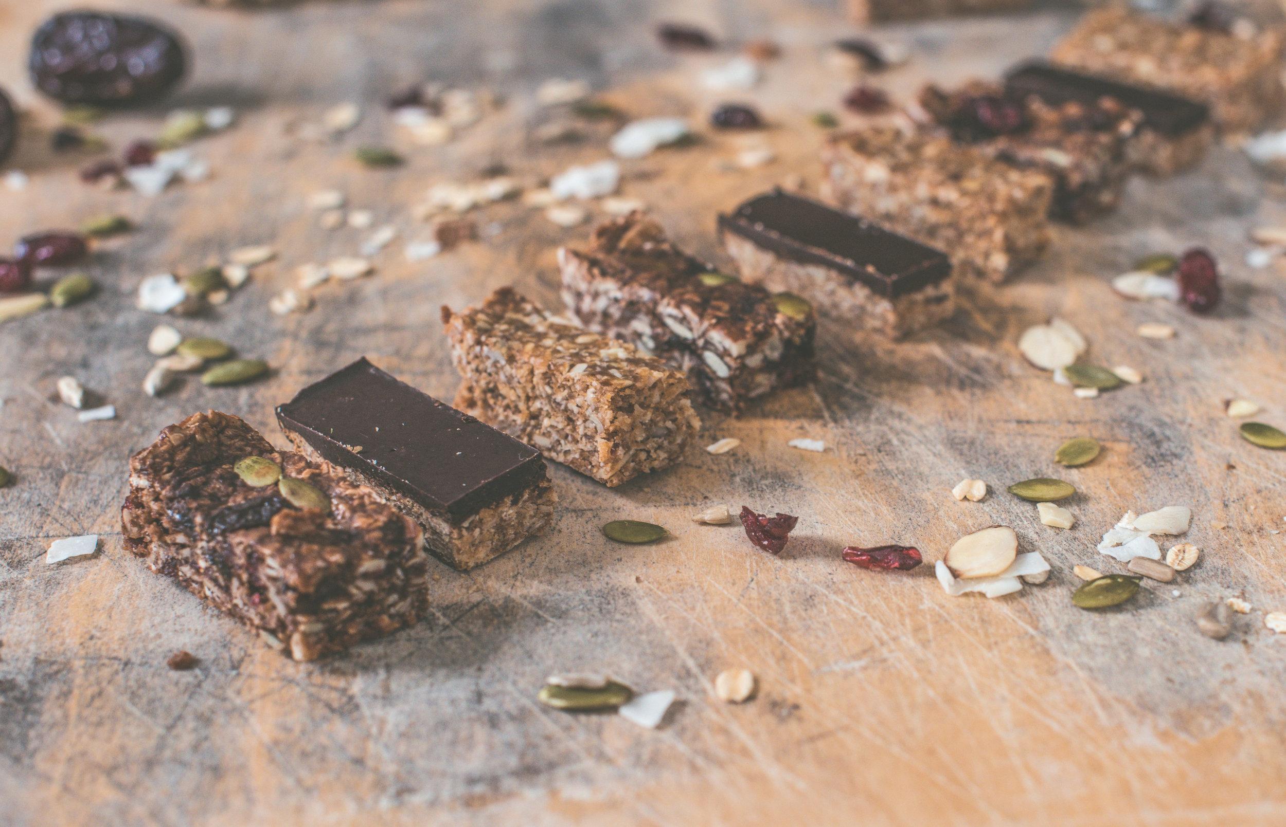 Granite State Granola, sample slices.   Photo Credit: Jessica Ramos, Culture to Table