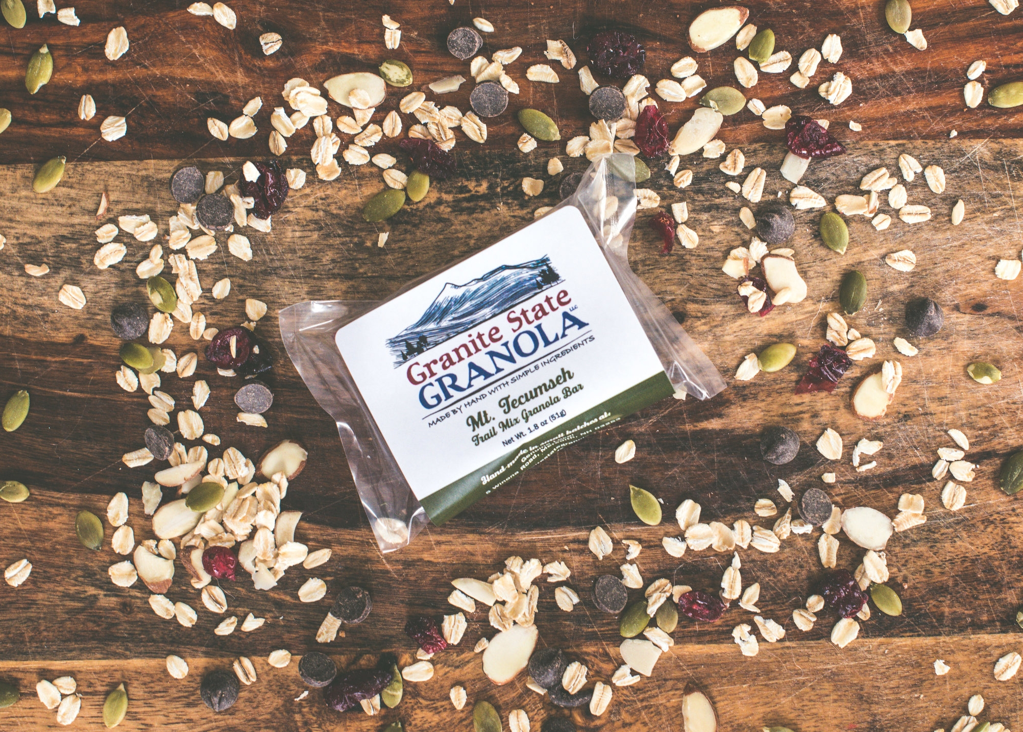 Mt Tecumseh - Trail Mix Granola Bar