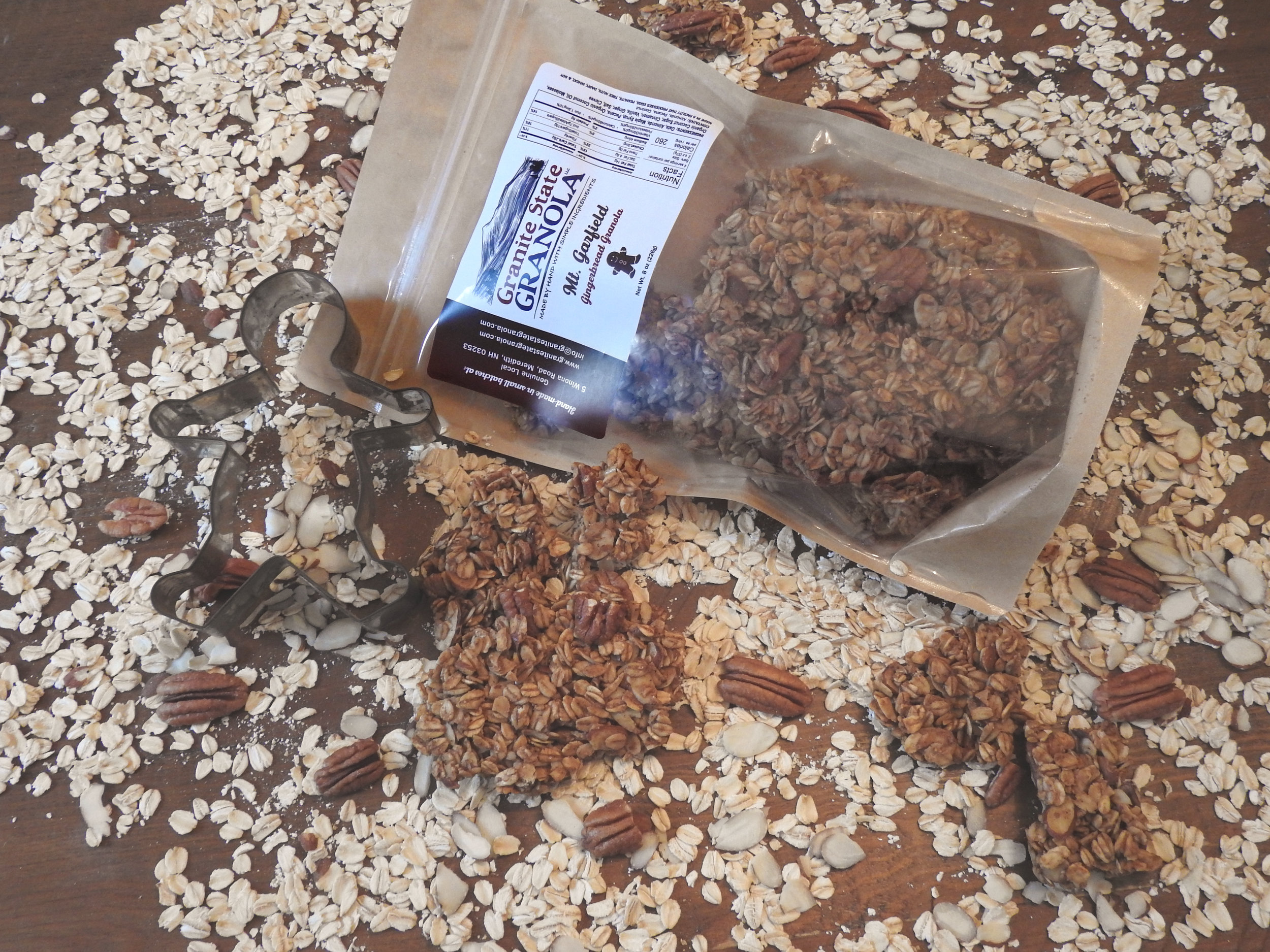Mt Garfield Gingerbread Granola—available November, December, January only