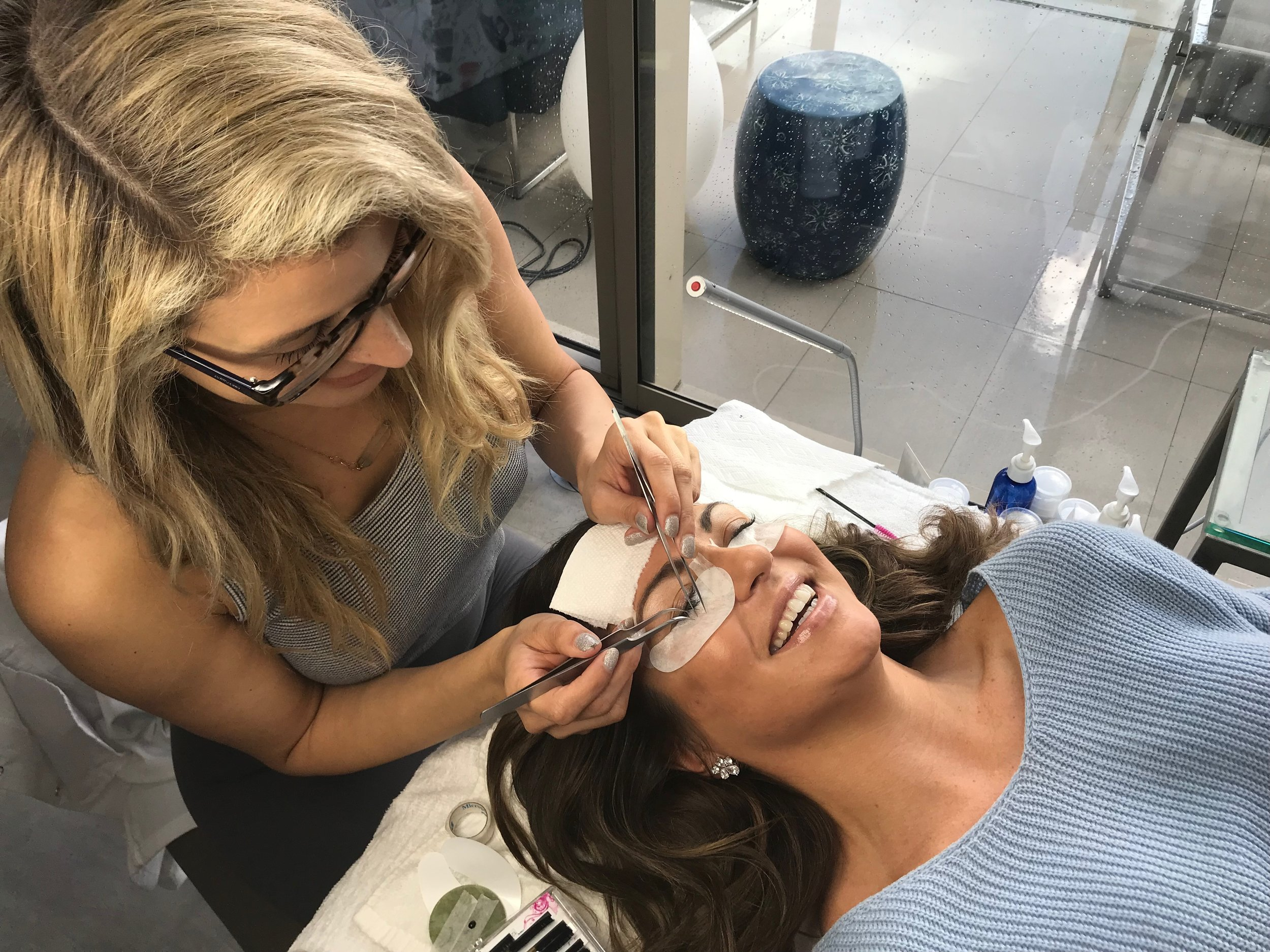 Studio Services - Having the proper environment is a crucial element for providing the best performance during the eyelash application process, I can promise you a clean, relaxing environment  to which I will fulfill your beauty needs!Services provided at my studio in West Hollywood- address available upon request. Full set:  2 hour applicationEyelash fill:  every 2-3 weeks | 1 hour applicationAdditional Late/ Cancellation Fees Apply without 24 hour notice