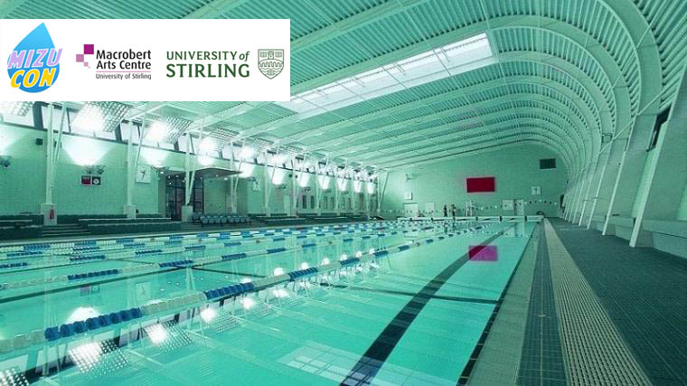 On campus swimming pool, which attendees can get access to for an aditional fee.