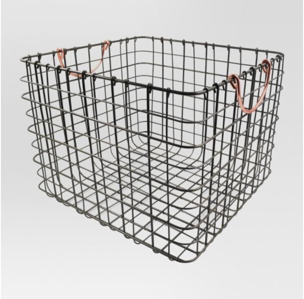 Wire Milk Crate