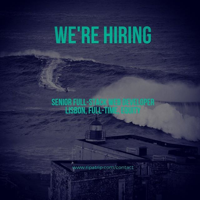 HIRING: SENIOR FULL STACK WEB DEVELOPER. FULL-TIME, LISBON, WITH EQUITY (Potential for co-founder role) . After a successful launch of our iOS Kitesurf MVP our next release will be a multi-sport web platform. While we have access to a team of external developers that have led development so far, we are looking for someone to take leadership on our web release. You will be the first internal developer, ultimately building a team underneath you. You should be a self-starter and leader, someone who embraces challenges and the risks associated with them. . Ideally you have 5+ years experience and can continue development with our current tech stack. However, as a senior web developer taking development leadership, new languages, systems, and platforms may be incorporated. . Currently: . *All systems are written in Javascript (Typescript) *Dashboard was built using Angular *Our API Server was built using NestJS *MongoDB Database *Server is being stored an a VPS through Vultr however we plan to migrate to AWS . We are located at Startup Lisboa (incubator) in Lisbon. Are you ready to rip? . Submit application to https://forms.gle/cSAZqSJYDj3Naqj66 or visit contact link in bio . #letsrip #ripatrip . #kiteboarding #surfing #hiking #skiing #snowboarding #paddleboarding #climbing #adventuretime #bestdestinations #adventuretravel #lisbon #startuplisboa . #javascript #webdeveloper #html #css #responsivedevelopment #angular #typescript #nestjs