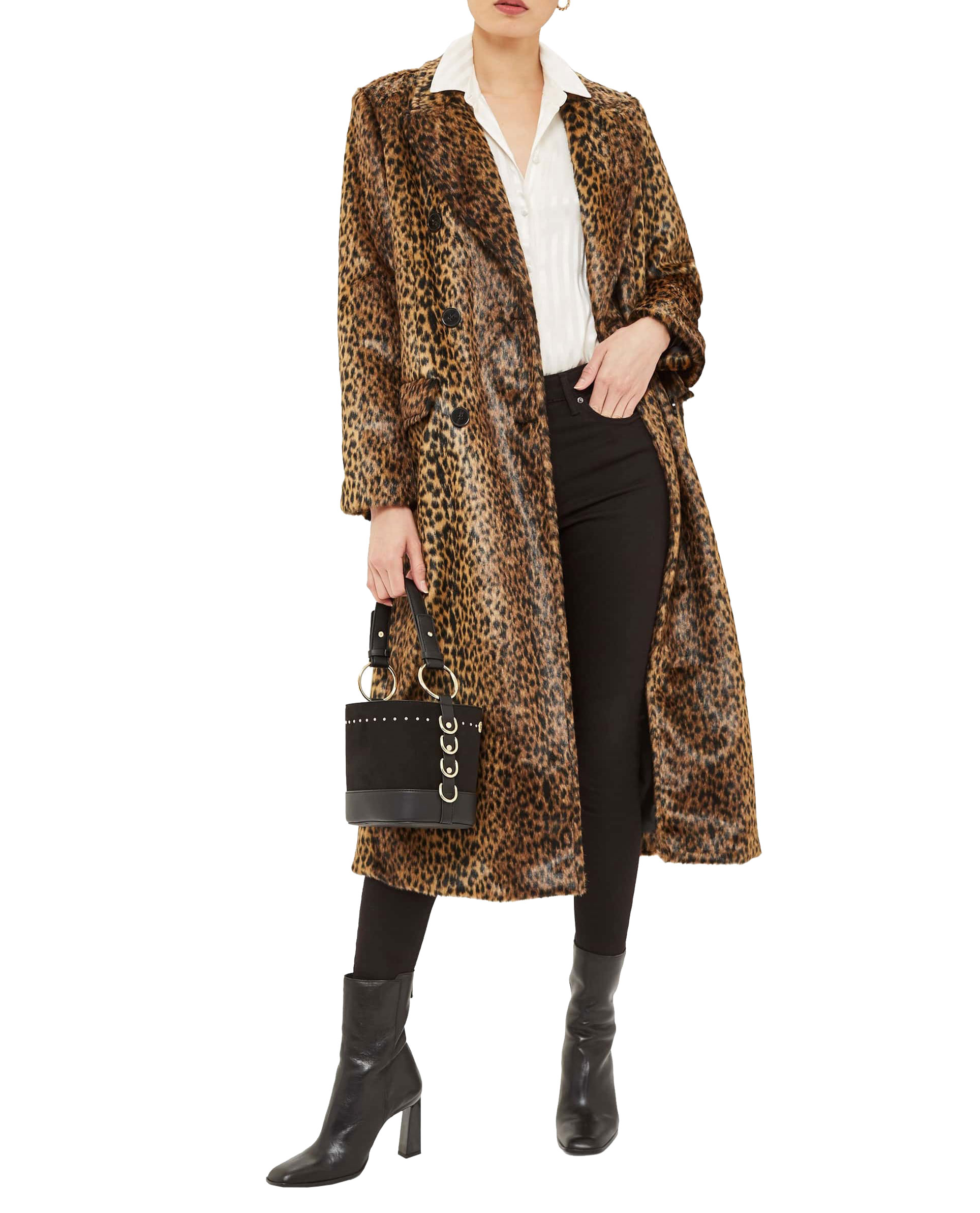 Top Shop Leopard Coat     $210