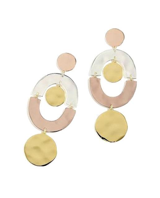 J Crew Orbit Earrings     $48