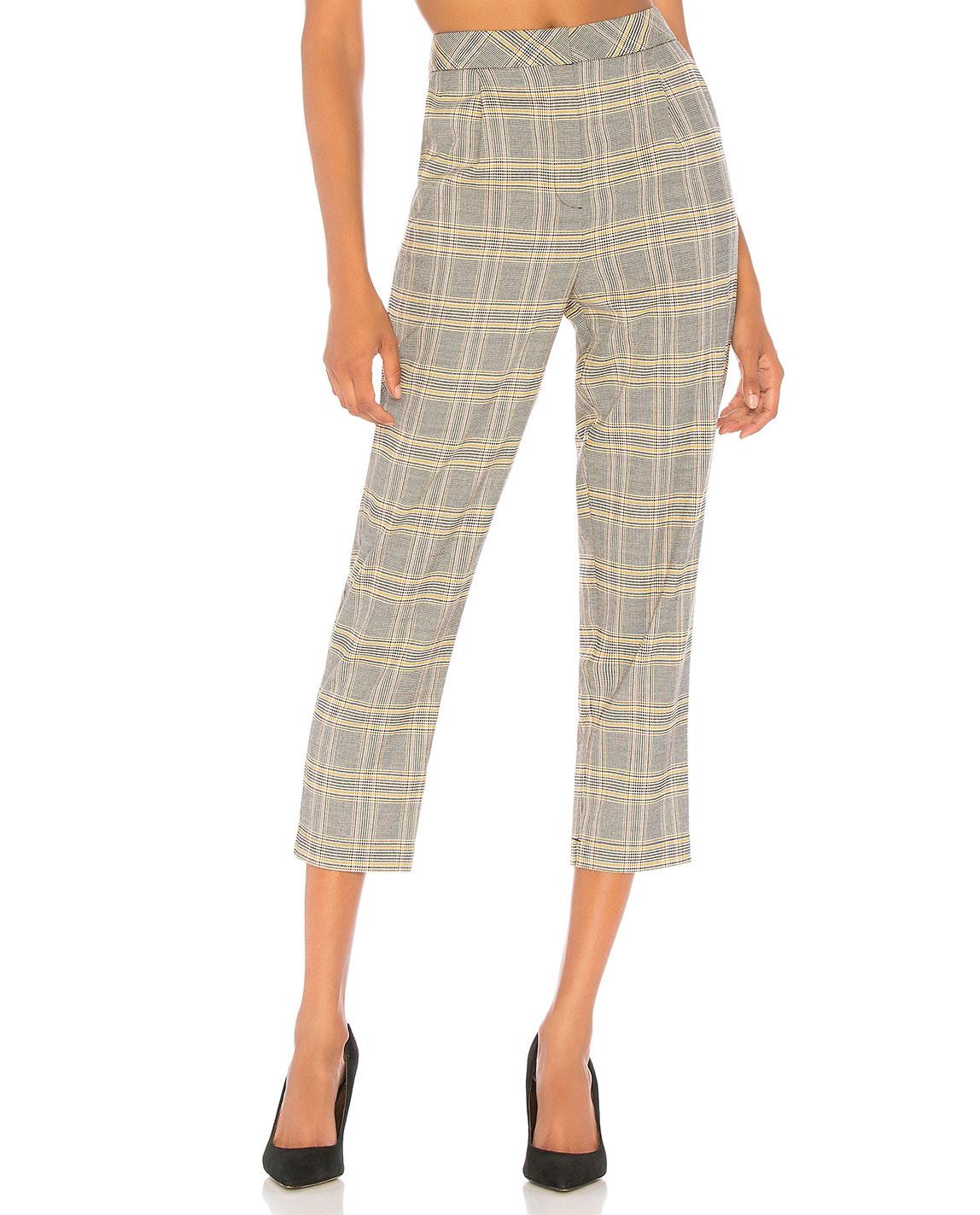 1. STATE Plaid Pants     $89