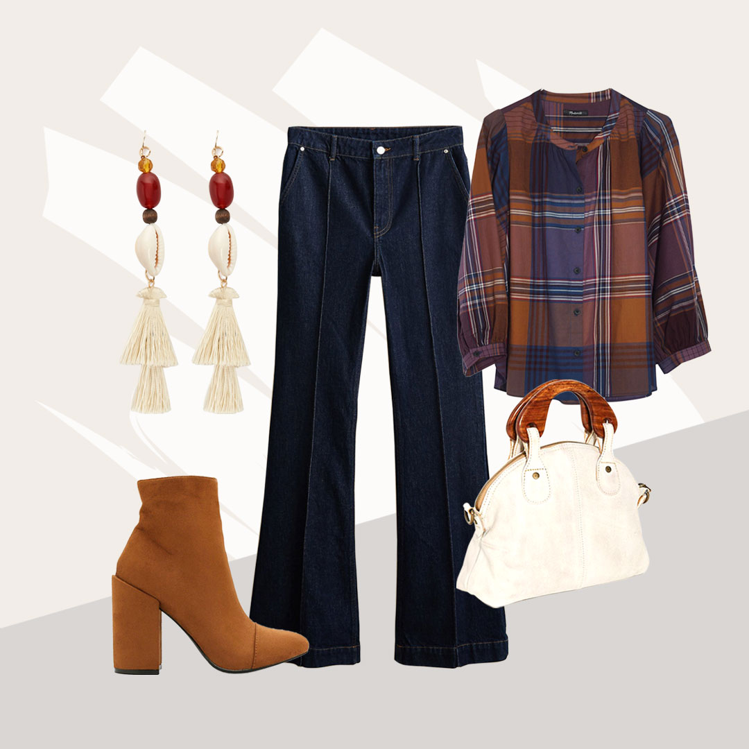 Wear It Now to Be Laid Back in Plaid - Those laid-back-but-put-together vibes. Plaid tends to have that effect, and it's so good.