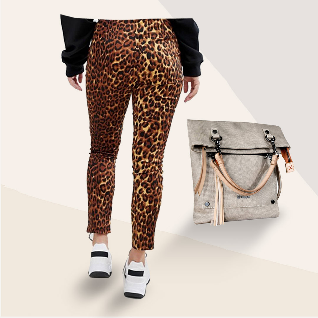 passing on python prints. - So snakeskin isn't your thing, and that's cool too. Best thing about fashion is there are always OPTIONS. Wear a winter floral print, a textured canvas bag or the always neutral leopard print if you're not quite ready to replace your classic neutrals or novelty prints.