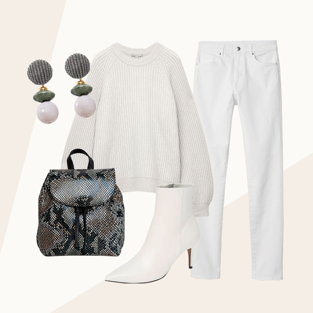 Winter White Done Right - Whoever said no white after labor day has never walked on the white side.