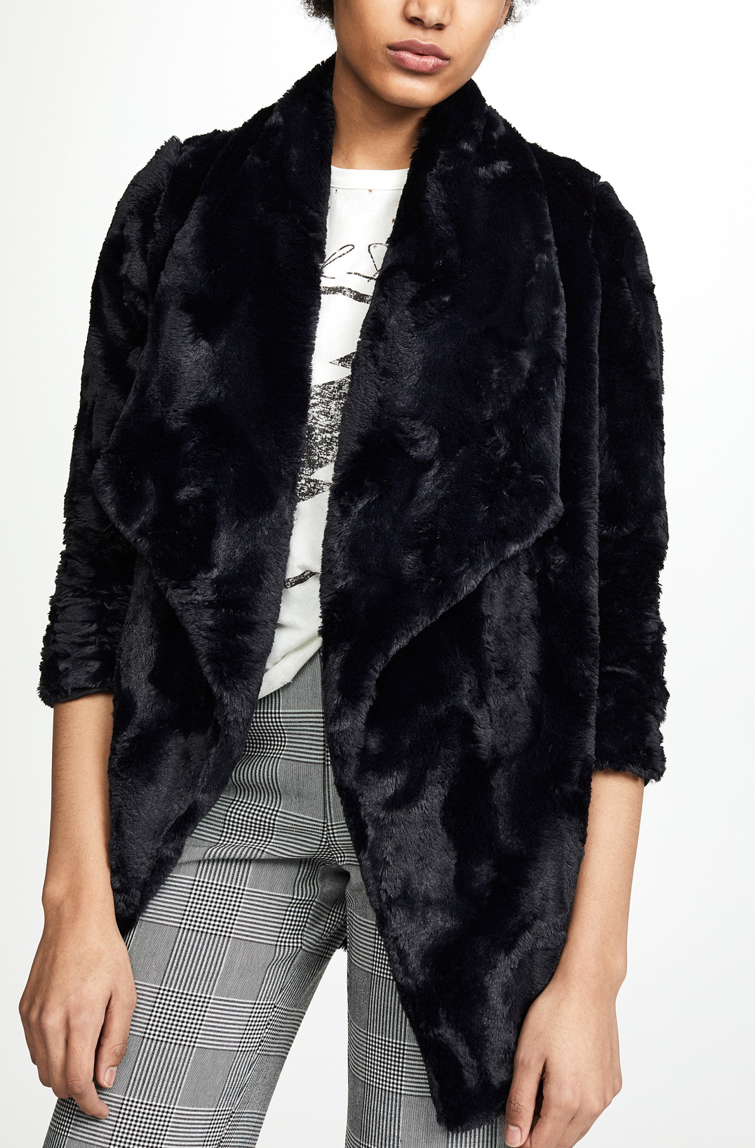 BB Dakota Fur Coat     $98