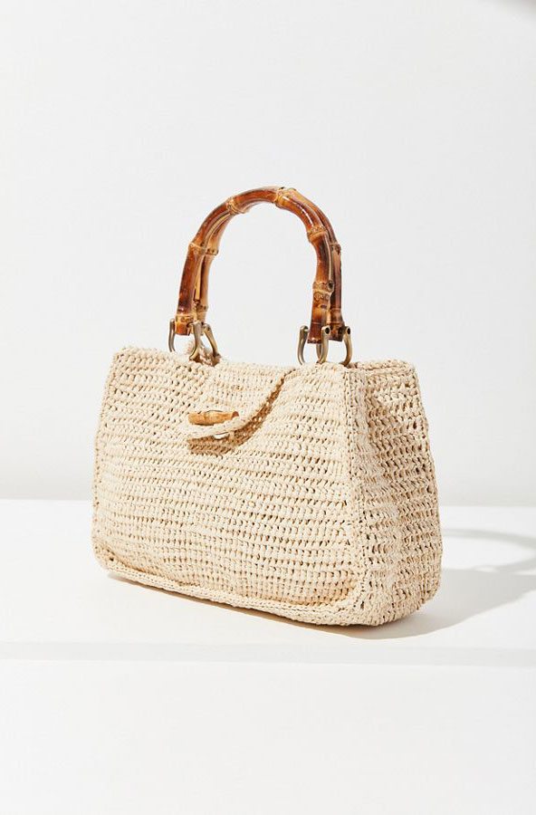 Urban Outfitters Straw Bag     $42