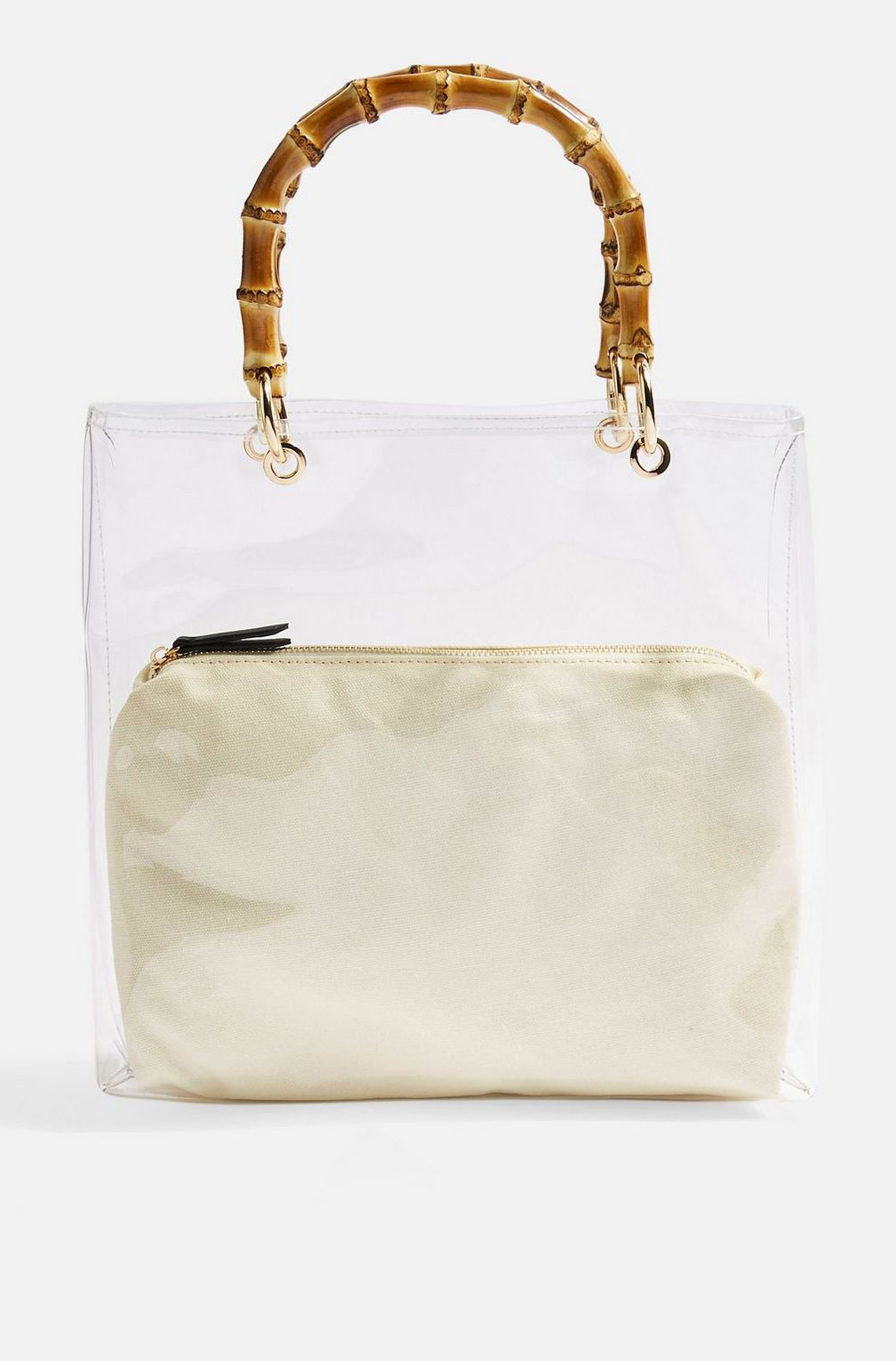 Top Shop Clear Tote     $48