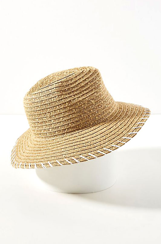 San Diego Hat Co. Straw Fedora     $48