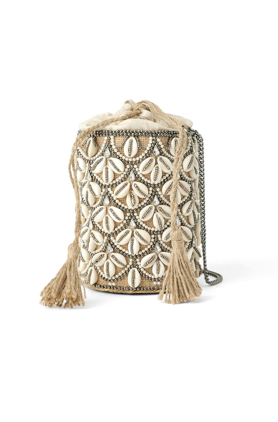 Zara Seashell Crossbody  $59.90