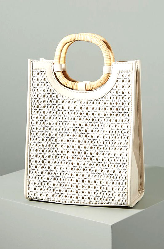 Anthropologie Woven Tote     $78
