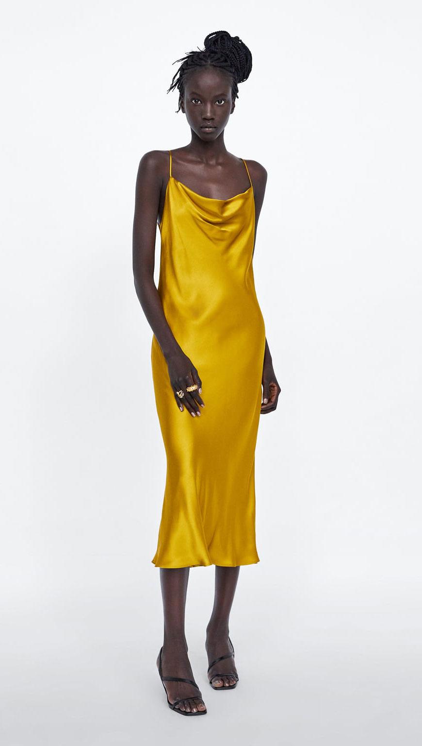 Zara Silk Dress    $49.90