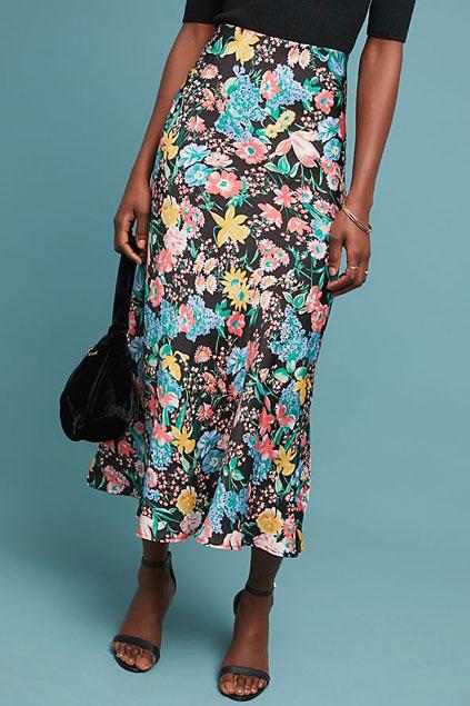 Maeve Printed Skirt    $98