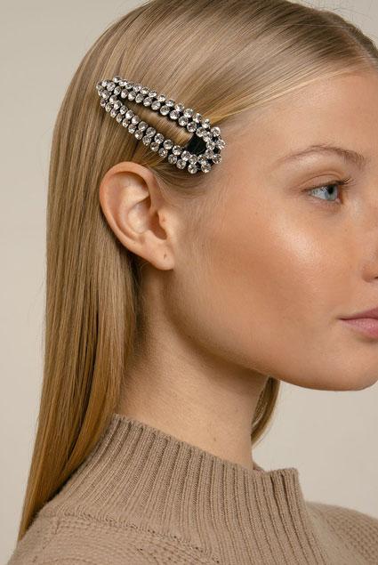 Pixie Market Crystal Hair Clip  $20