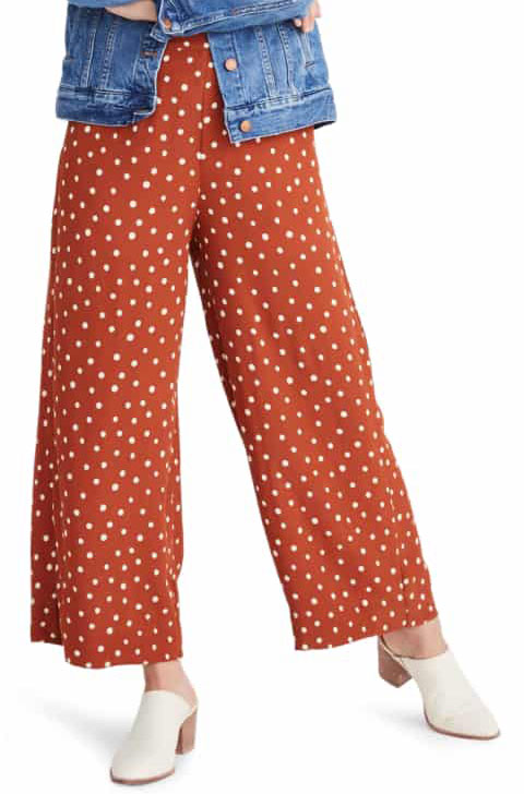 Madewell Polka Dot Pants  $82