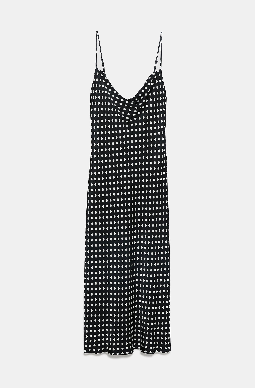 Zara Polka Dot Dress     $49.90