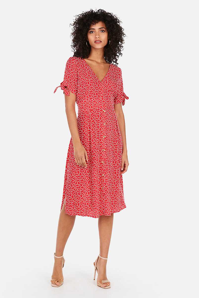 Express Polka Dot Dress  $69.90