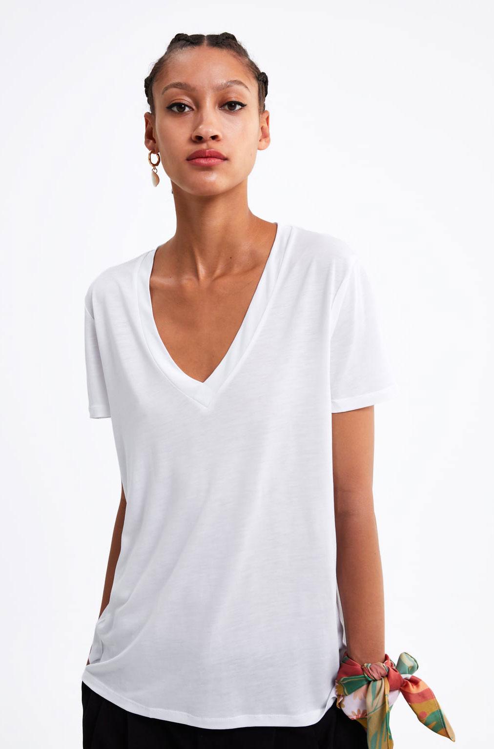 Zara White Tee   $19.90