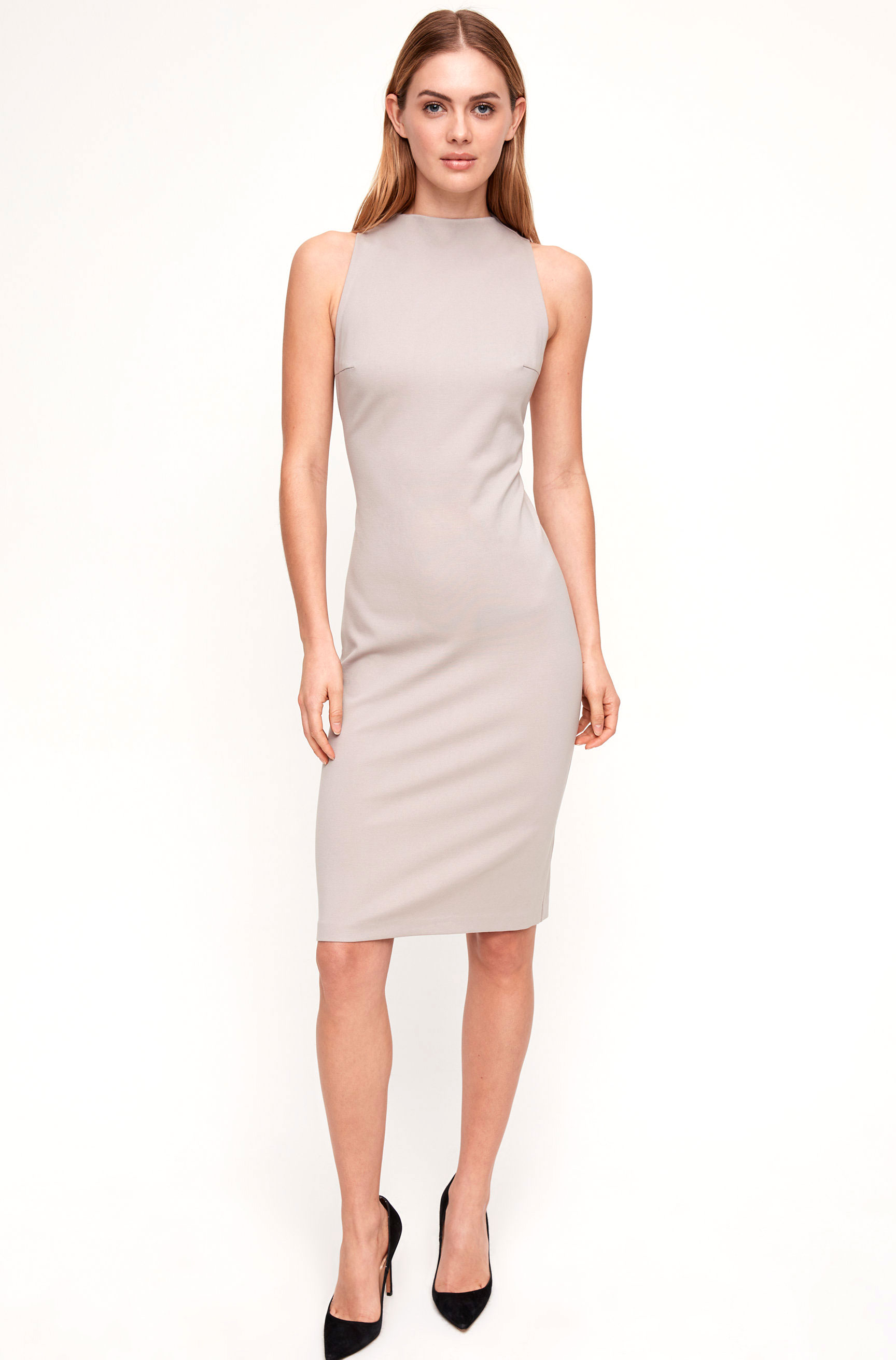 Aritzia Neutral Dress    $98
